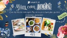 Chào mừng ngày quốc tế phụ nữ 8/3: Cuộc thi VNPT IT - Mâm cơm 100k